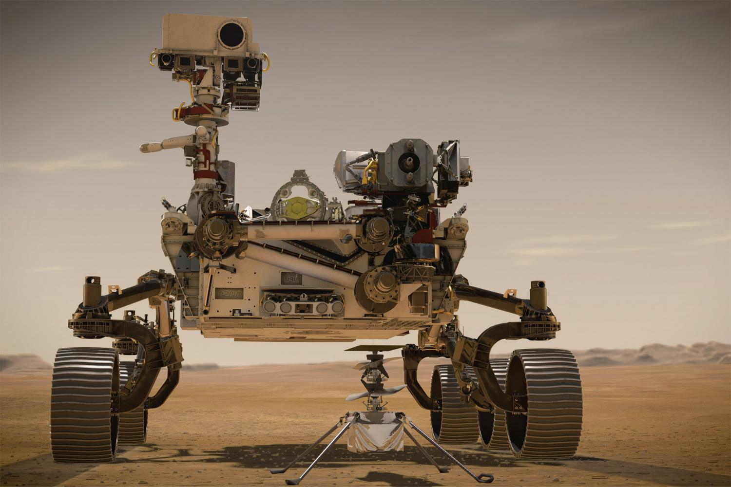 maxon drives on the Red Planet