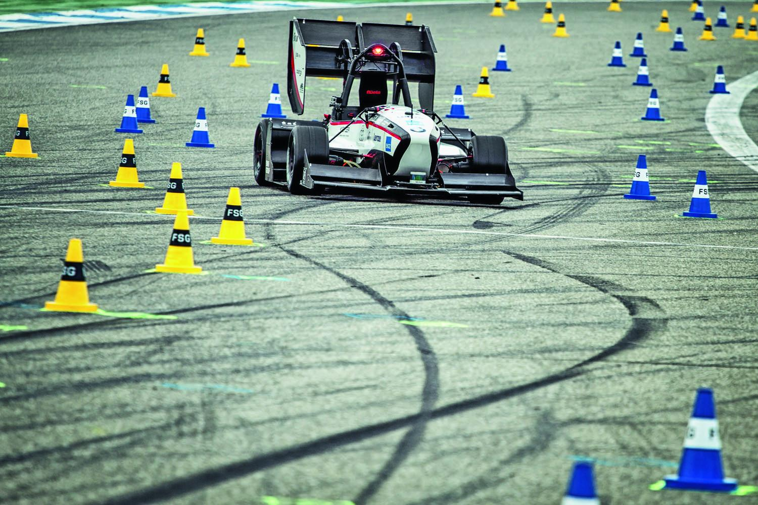 Swiss racing team wins with fastest driverless car